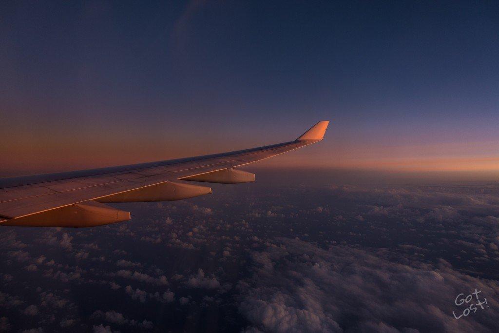 Long Haul Flights - Got Lost!