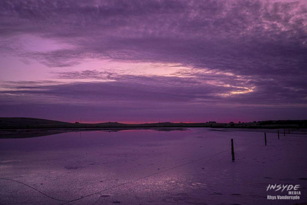 Pink Lake in Meningie South Australia