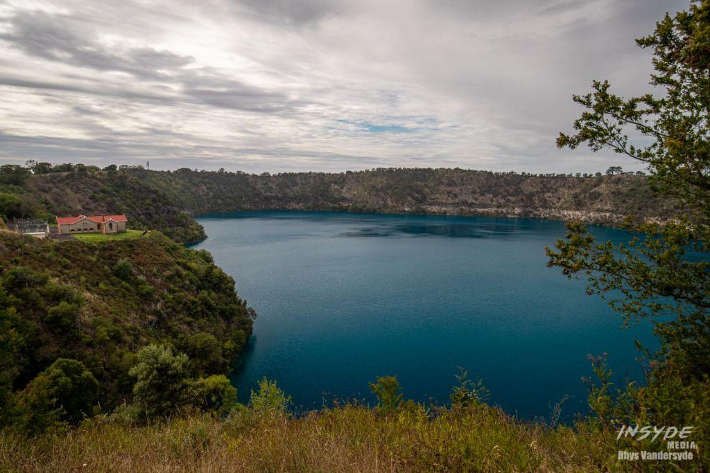 Blue Lake in Mount Gambier South Australia