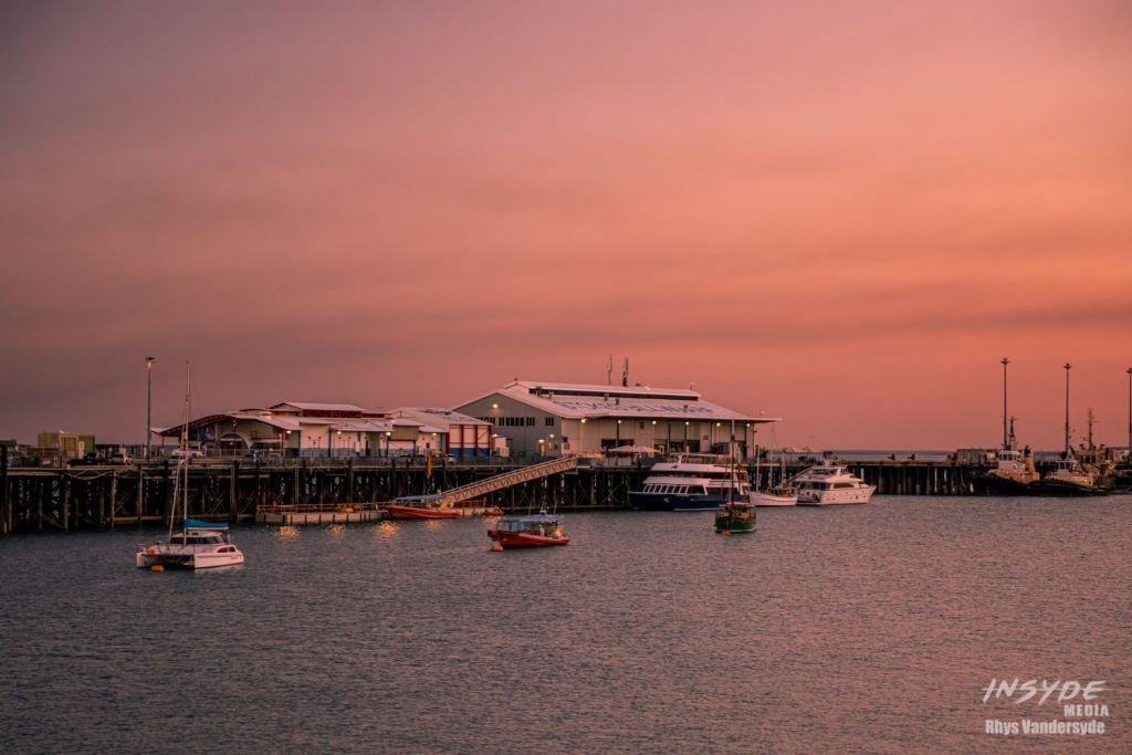 Stokes Hill Wharf, Darwin