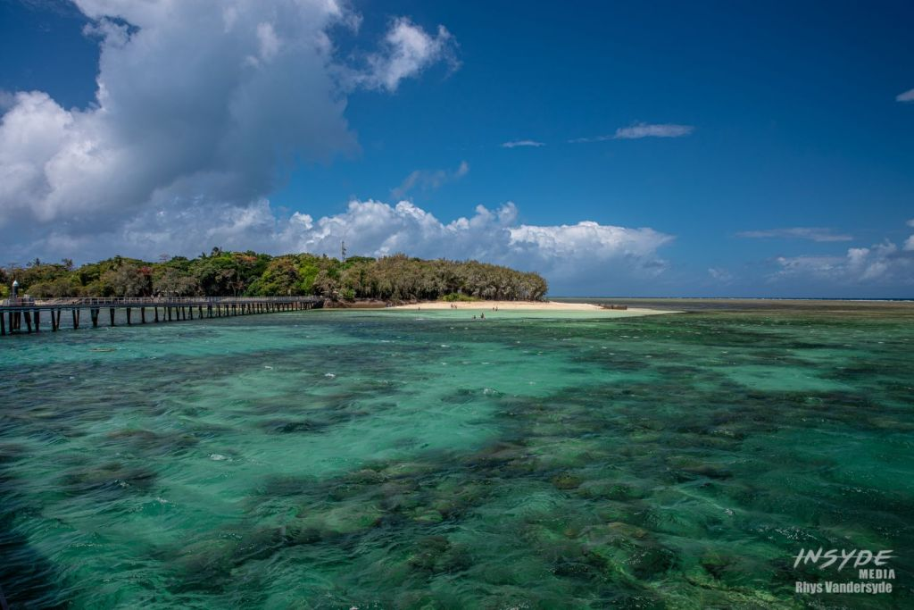Green Island in the Great Barrier Reef